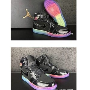 Nike Airforce Rainbow Sole
